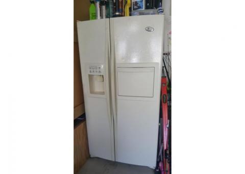 refrigerators and dishwasher