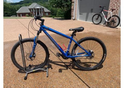 2 Cannondale Bikes