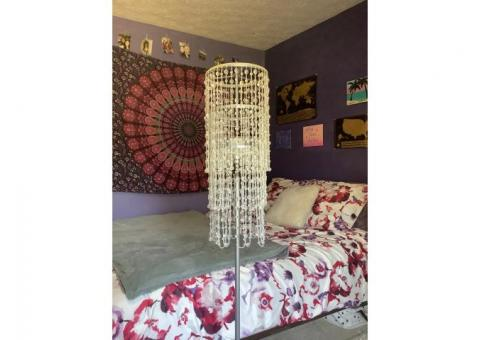 Beaded Floor Lamp